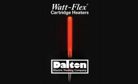 Watt-Flex® Split-Sheath Cartridge Heaters by Dalton Electric expand when energized for exceptional bore contact and maximized heat transfer (even in oversized bores) and contract when de-energized for warranted removability from the bore.