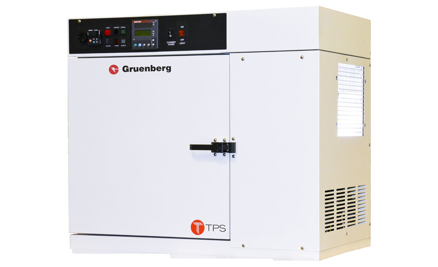 Gruenberg bench sterilization oven tested for PPE to fight COVID-19