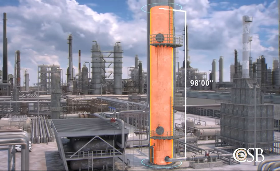 BP Texas City Refinery animation from CSB
