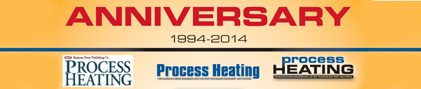 Process-Heating Anniversary Banner