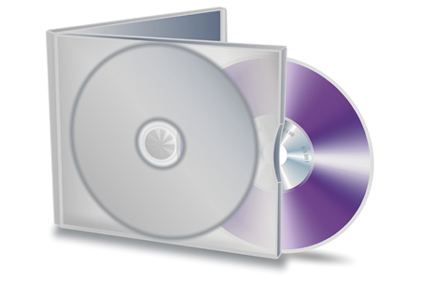 CD-DVD stock image