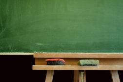 training classroom chalkboard education seminar workshop
