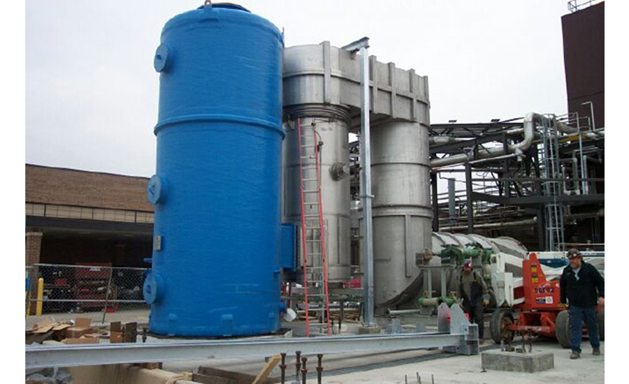 pharmaceutical processor adds thermal oxidizer to reduce industrial emissions