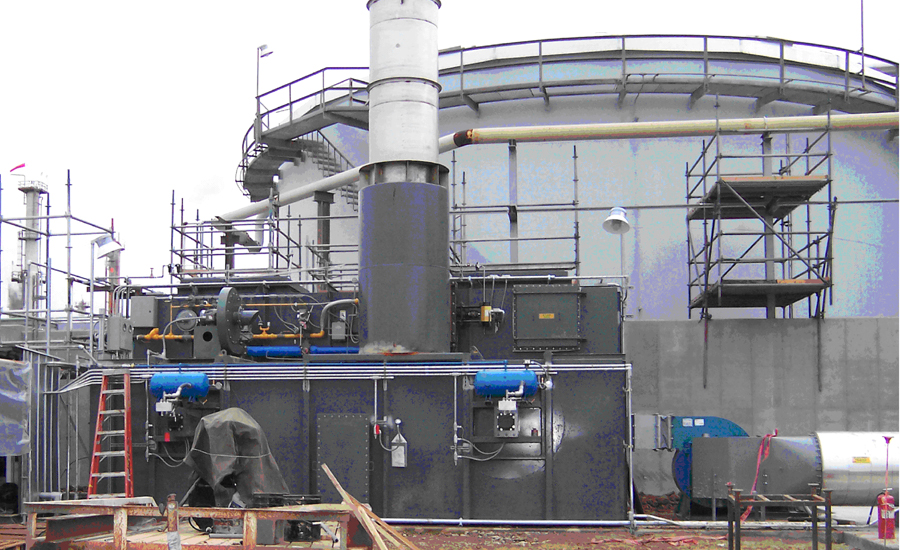 petrochemical processor adds thermal oxidizer to reduce industrial emissions
