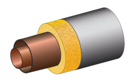 Fully jacketed piping provides the highest heat transfer rates