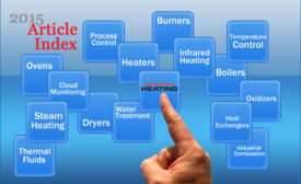 2015 Process Heating article index cover image