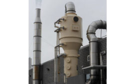 Bionomic RotaBed for Gas Absorption, Particulate Collection