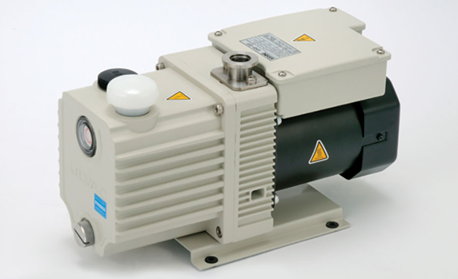 Magnetically Coupled, Oil-Sealed Rotary Vane Pumps