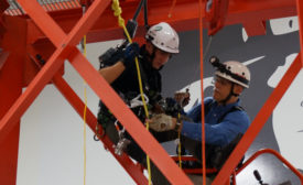 honeywell tower fall protection industrial safety training news