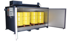 Benko Products Inc. Drum/Tote Oven Suitable for Class I, Division I Areas