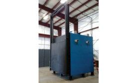 Preheat Oven Removes Moisture from Aluminum Castings