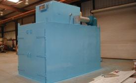 Gas Oven Preheats, Anneals Plastic Sheets