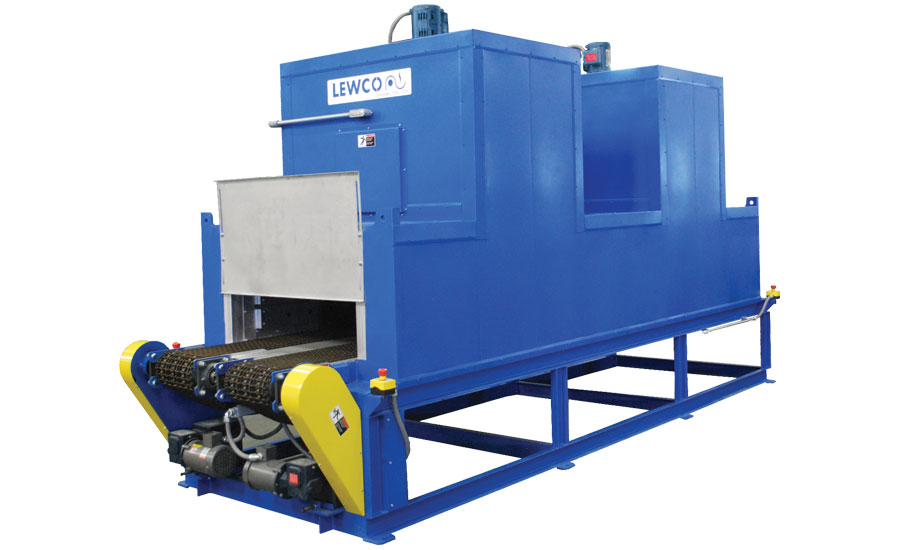 Custom Conveyor Oven for Marine Engine Heat Exchangers