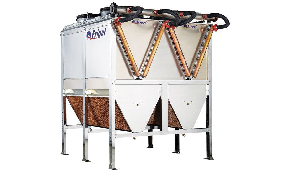 Closed Loop Fluid Cooler : Closed loop liquid cooler reduces water energy