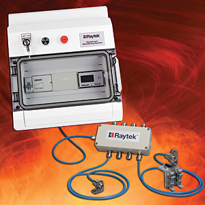Raytek temperature measuring system