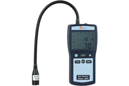 E Instruments leak detector