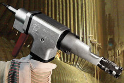Esco tube-fin removal tool