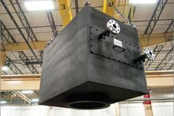 Plate-fin heat exchanger coils