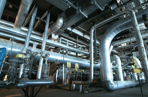 Insulating Hot Oil Systems