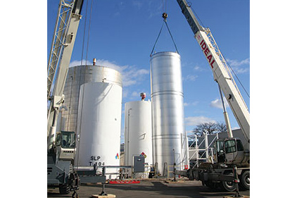Atmospheric Tanks Support Biofuel Processing Operation