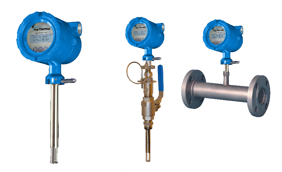 Model FT4A Thermal Gas Mass Flow Meter