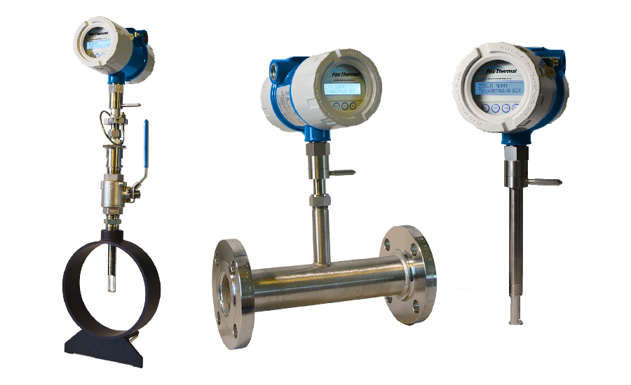 Model FT4X Thermal Gas Mass Flow Meter