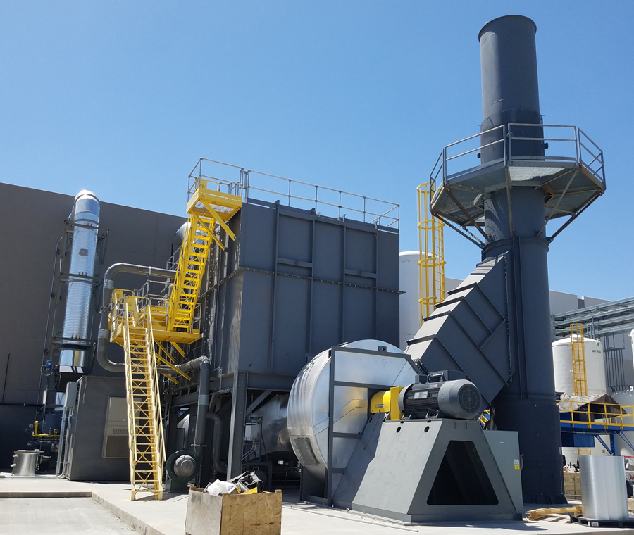 Refurbished MEGTEC Systems Clean Switch 70,000 Regenerative Thermal Oxidizer