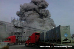 fire and explosion that occurred at the Carbide Industries