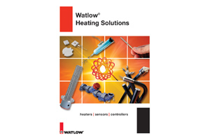 Heater Catalog from Watlow Offered in Multiple Formats