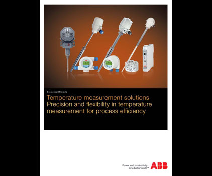 Brochure Covers Temperature Measurement for Process Applications