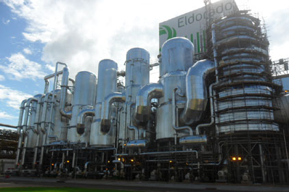Evaporation Plant, Recovery Boiler Started Up in Brazil