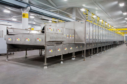 White Paper Explores Heat Recovery for Conveyor Dryers