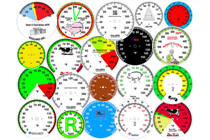 Customize Dial-Face Designs for Thermometers