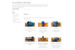 Hurst CAD Libarary industrial boilers