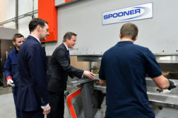 Prime Minister, Chancellor Visit Industrial Ovens and Dryers Maker