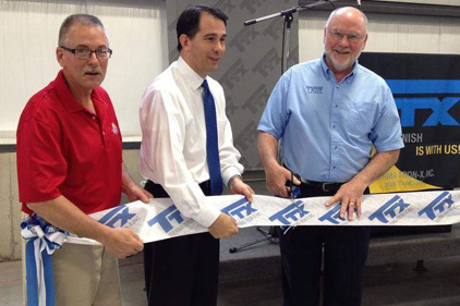 TTX Expands for Fourth Time, Governor Walker Attends Ribbon Cutting