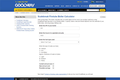 Online Calculator Shows Savings Possible with Cleaning Firetube Boilers