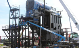 hurst boiler industrial chicken poultry litter powered waste to energy boiler cogeneration plant