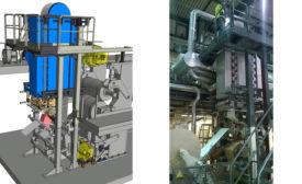 Valmet web moisturizing and evaporation cooling equipment dubbed aqua cooling