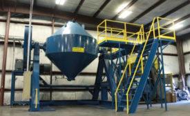 Sinterite Powder Blender Increases Facility's Capacity