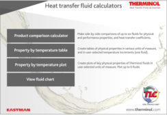 Eastman Therminol Heat Transfer Fluid Calculators Updated