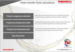 Eastman Therminol Heat Transfer Fluid Calculators Updated