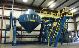 Sinterite Powder Blender Increases Facility's Capacity