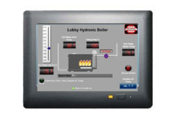 Remote View Terminal, Web Server for Boilers