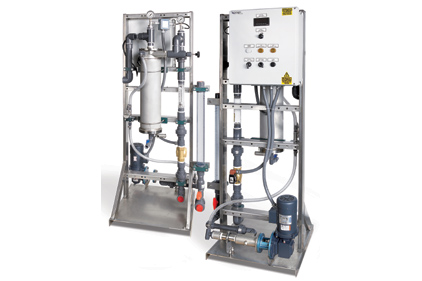 Liquid Polymer Dilution and Feed System
