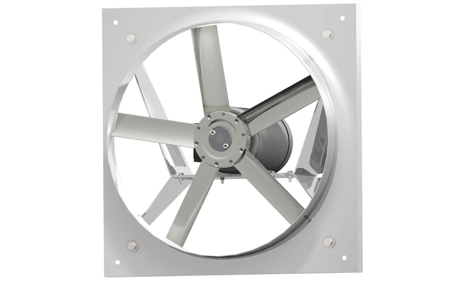 Direct-Drive Panel Fan Offers Quiet Operation