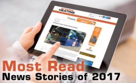 Most read news stories on Process Heating in 2017
