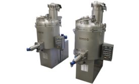 Vertical Dryer for Powder Processing