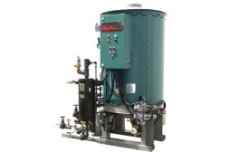 Compact Steam Generators for Offshore Oil Rigs