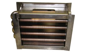 Heat Exchangers Have Anti-Microbial Fins